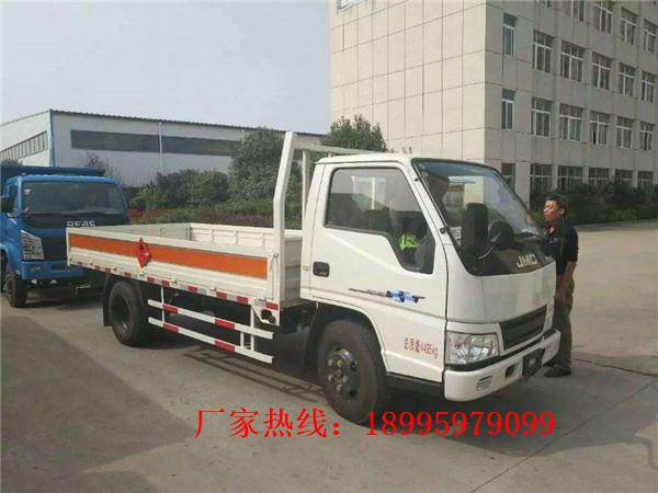 台灣江鈴小型藍牌氣瓶運輸車廠家