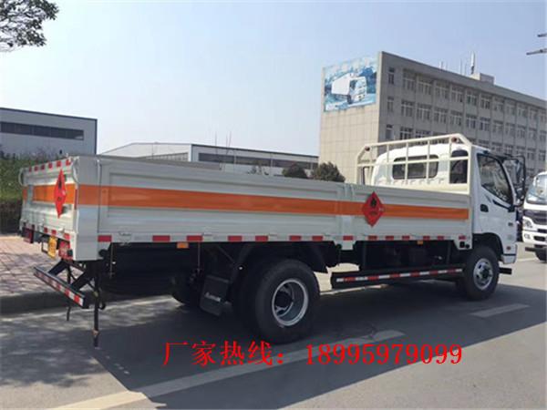 台灣江鈴小型1.5噸藍牌氣瓶運輸車價錢