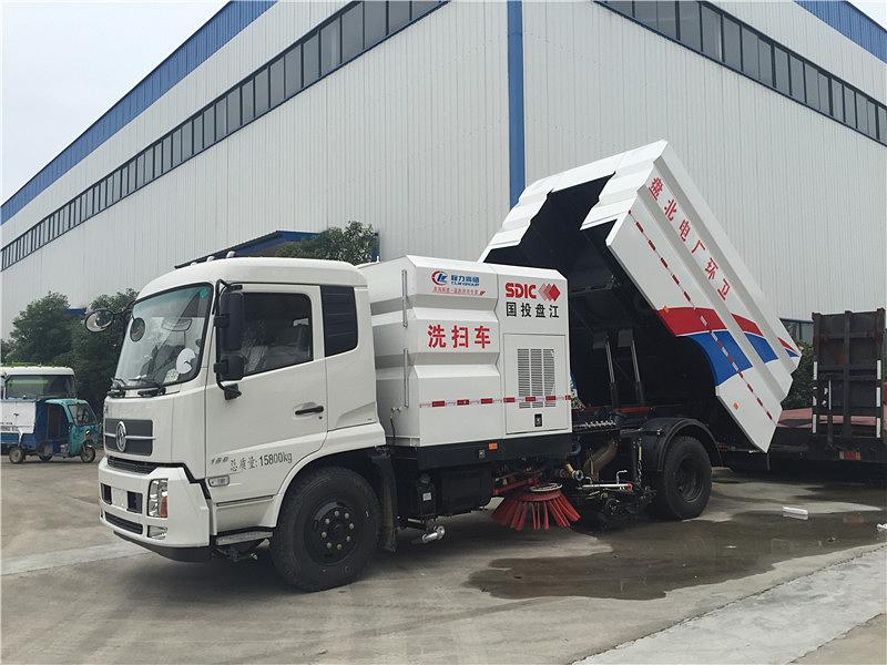 东风天锦8方洗扫车置清单及报价