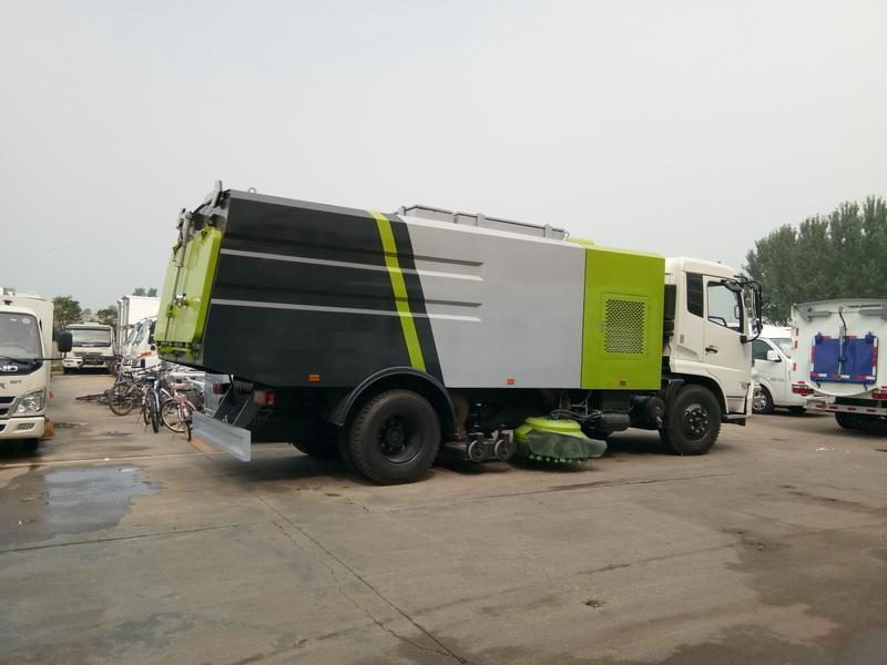 东风天锦多功能干扫车图片4