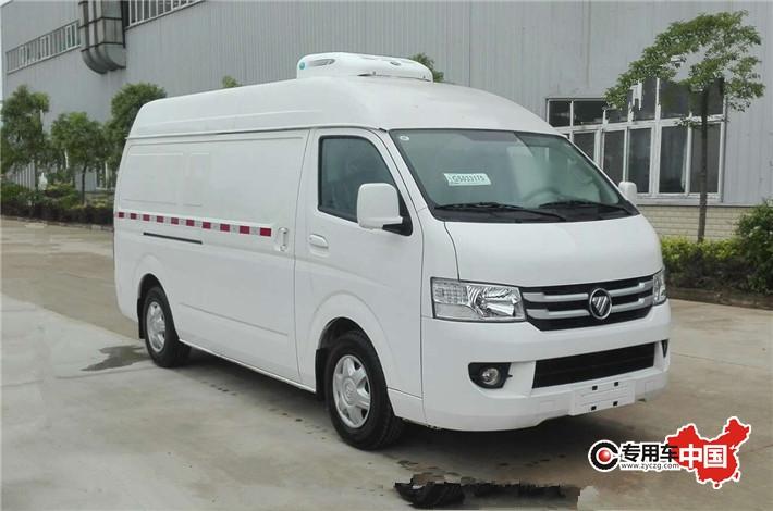 福田G7商務藥品冷藏車 車型實拍圖片1