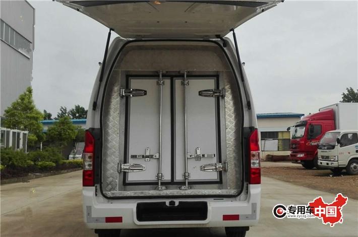福田G7商務藥品冷藏車 車型實拍圖片4