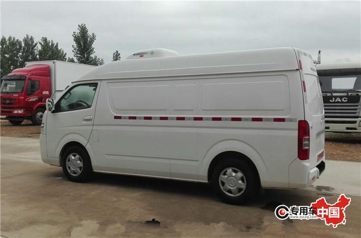 福田G7商務藥品冷藏車 車型實拍圖片3