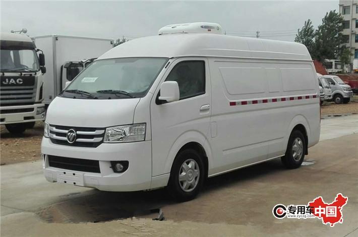 福田G7商務藥品冷藏車 車型實拍圖片2
