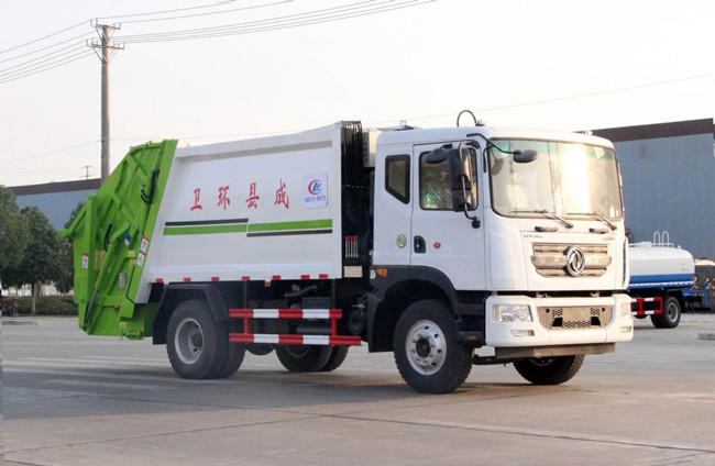 国五国六东风D9多利卡压缩式垃圾车厂家直销价格