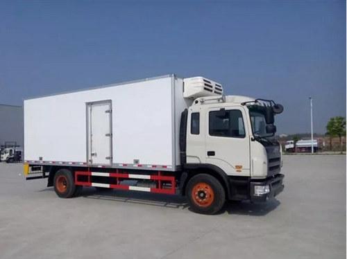 独立冷藏机组的冷藏车
