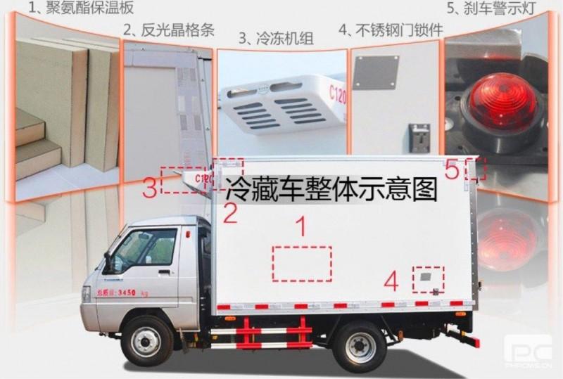 解放JH6-9.6米冷藏車細節