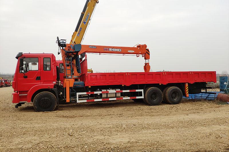东风石煤12吨随车吊 12吨随车吊 第2张