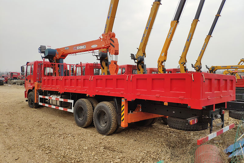 东风石煤12吨随车吊 12吨随车吊 第3张