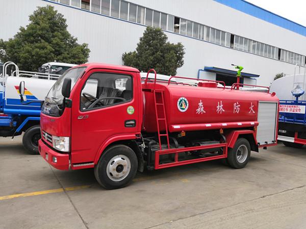 东风洒水车红色款消防洒水车厂家云内150马力视频视频