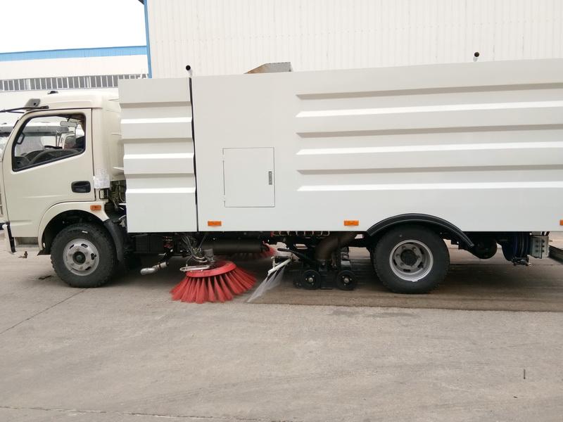 东风多利卡D7洗扫车图片2