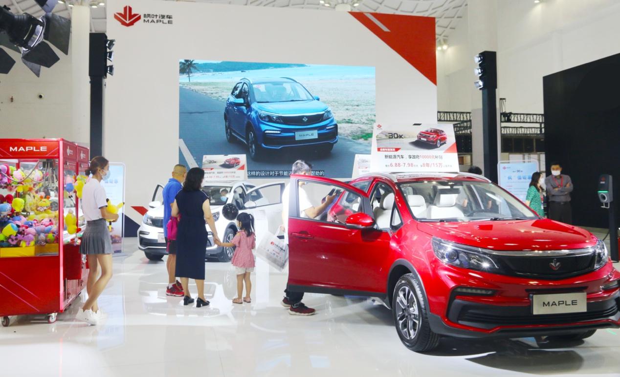 枫叶30X首秀2020海南国际车展插图(1)
