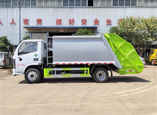 国六东风6方压缩垃圾车配置价格