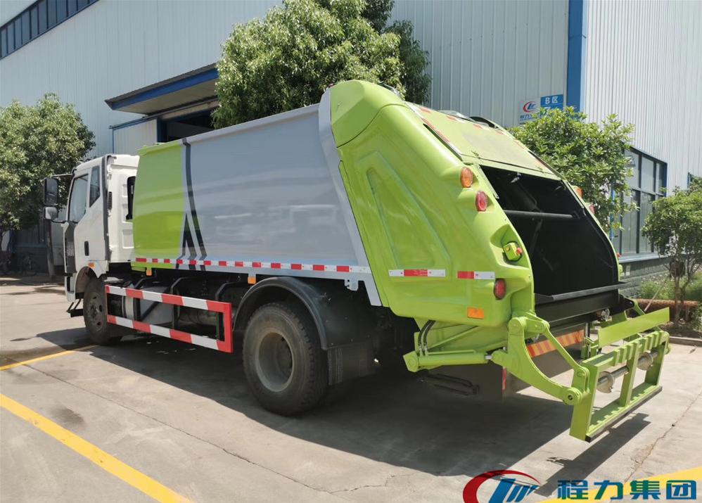 国六压缩垃圾车6方12方14方18方后装垃圾清运车价格