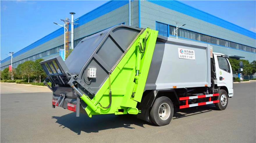 国六东风小多利卡压缩垃圾车6方产品配置介绍报价